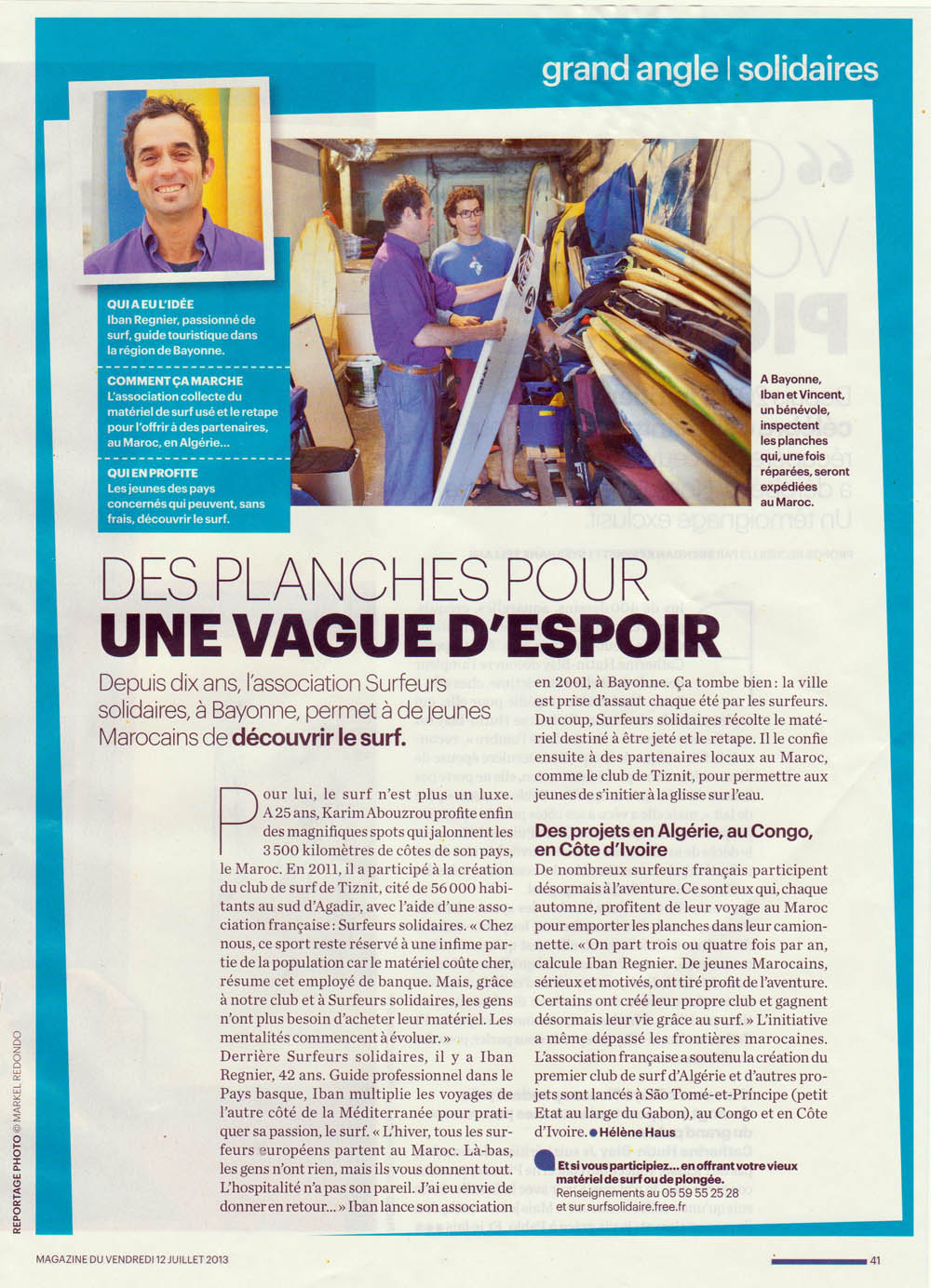 Aujourd'hui en France mag web