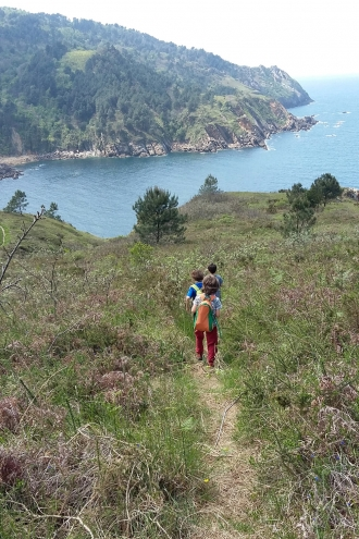 Iban Regnier - tourisme Euskadi Pays Basque - balade mer 05