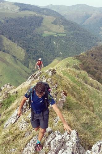 Iban Regnier - tourisme Euskadi Pays Basque - balade montagne 13