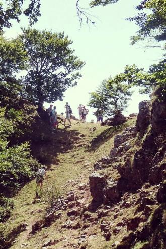 Iban Regnier - tourisme Euskadi Pays Basque - balade montagne 44