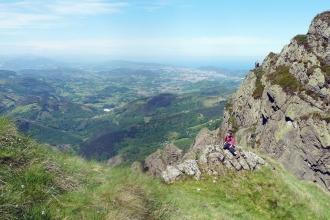 Iban Regnier - tourisme Euskadi Pays Basque - balade montagne 47