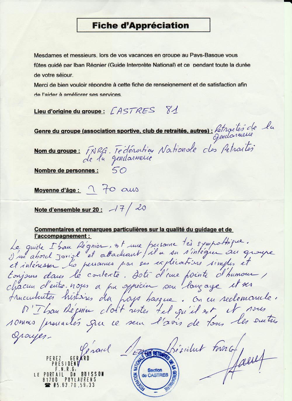 Retraités Gendarmerie 201
